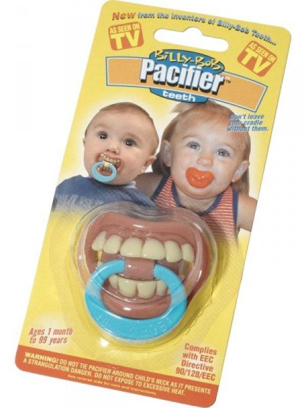 lustiger Nuggi / Schnuller Zähne