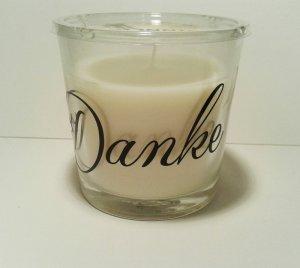 duftender Dankesgruss im Glas - Vanille