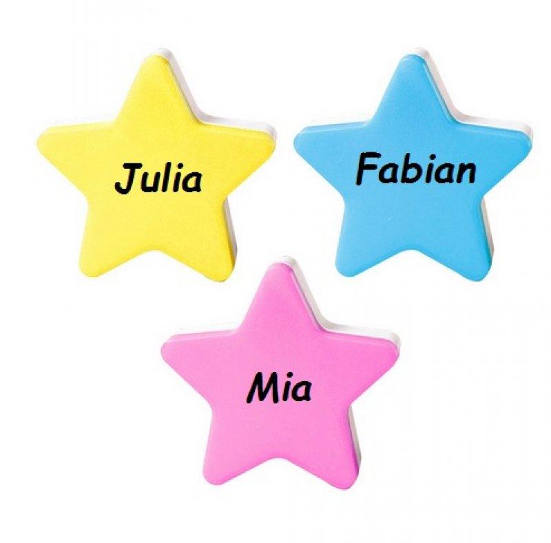 Stern Nachtlicht mit Name
