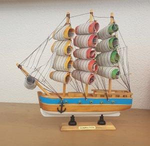 Geldgeschenk Schiff hellbraun