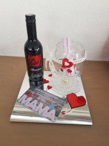 Muttertag Geschenk-Set mit Wein