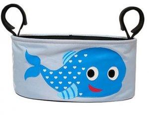 praktische Kinderwagentasche Delfin