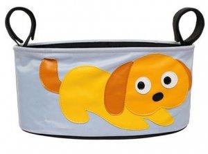 praktische Kinderwagentasche Hund