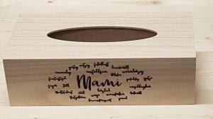 Kosmetiktuch-Box - tolles Geschenk für Muttertag / das Mami